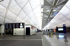 Aéroport international de Hong Kong Photographie stock