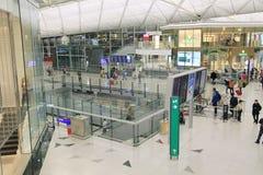 Aéroport international de Hong Kong Photographie stock libre de droits