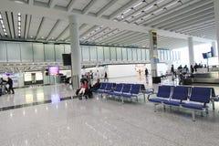 Aéroport international de Hong Kong Photos libres de droits