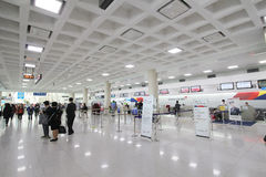 Aéroport international de Jeju Images libres de droits
