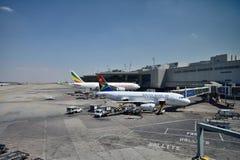 Aéroport international de Johannesburg Image libre de droits