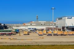 Aéroport international de Kansai à Osaka Photos stock