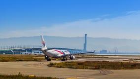 Aéroport international de Kansai à Osaka Photographie stock libre de droits