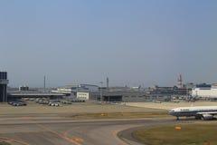 Aéroport international de Kansai, Osaka Photo stock