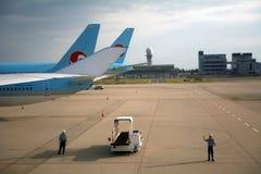 Aéroport international de Kansai, Osaka, Japon Photos stock