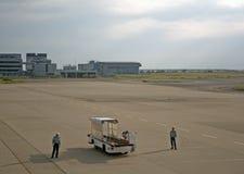 Aéroport international de Kansai, Osaka, Japon Images libres de droits