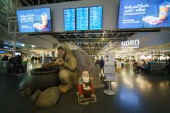 Aéroport international de Keflavik, Islande Images libres de droits