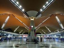 Aéroport international de KLIA 1, Kuala Lumpur Image stock