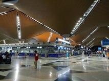 Aéroport international de KLIA 1, Kuala Lumpur Photos stock