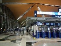 Aéroport international de KLIA 1, Kuala Lumpur Photo libre de droits