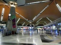 Aéroport international de KLIA 1, Kuala Lumpur Images libres de droits