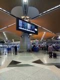 Aéroport international de KLIA 1, Kuala Lumpur Photographie stock