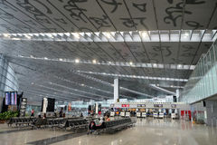Aéroport international de Kolkata Photo stock