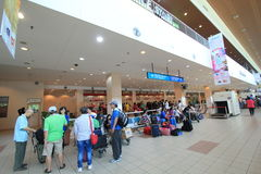 Aéroport international de Kota Kinabalu Photo libre de droits