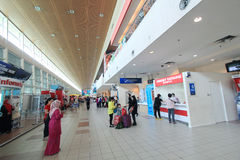 Aéroport international de Kota Kinabalu Photos stock