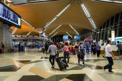Aéroport international de Kuala Lumpur Photographie stock