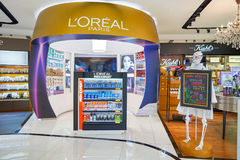 Aéroport international de Kuala Lumpur Photographie stock libre de droits