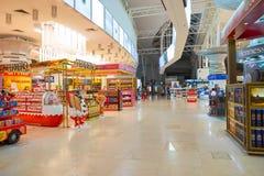 Aéroport international de Kuala Lumpur Photos stock