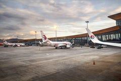 Aéroport international de Kunming Changshui Images stock