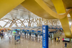 Aéroport international de Kunming Changshui Photos stock