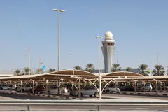 Aéroport international de l'Abu Dhabi Photographie stock libre de droits