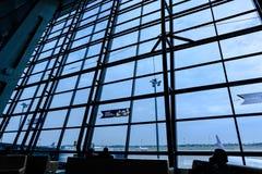 Aéroport international de l'Indonésie Images stock