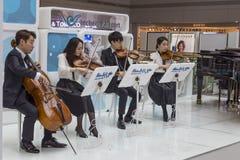 Aéroport international de la Corée du Sud, Incheon Concert de classique Images libres de droits