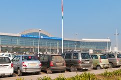 Aéroport international de Lal Bahadur Shastri International Airport ou de Varanasi Photographie stock