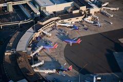 Aéroport international de Logan Photographie stock libre de droits
