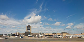 Aéroport international de Logan, Boston Photographie stock libre de droits