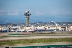 Aéroport international de Los Angeles Image libre de droits