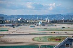 Aéroport international de Los Angeles Photographie stock libre de droits