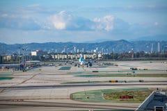 Aéroport international de Los Angeles Photos stock