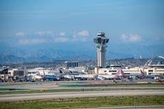 Aéroport international de Los Angeles Photographie stock