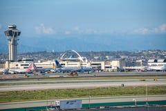 Aéroport international de Los Angeles Images stock