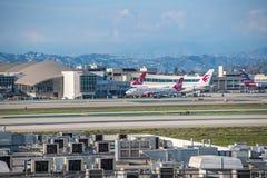 Aéroport international de Los Angeles Photo libre de droits