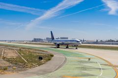 Aéroport international de Los Angeles (LAX) Photos stock