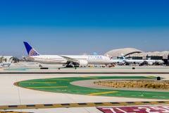 Aéroport international de Los Angeles (LAX) Images libres de droits
