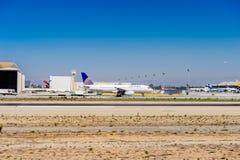 Aéroport international de Los Angeles (LAX) Image libre de droits