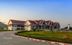 Aéroport international de Luang Prabang, Photographie stock libre de droits