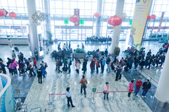 Aéroport international de Macao Photos stock
