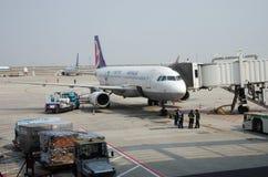 Air Macau surfacent Photographie stock