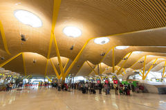 Aéroport international de Madrid Barajas Image stock