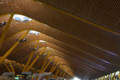 Aéroport international de Madrid Barajas Photo stock