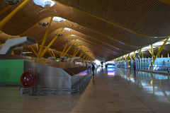 Aéroport international de Madrid Barajas Photo libre de droits