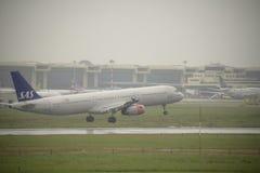 Aéroport international de Malpensa Image stock