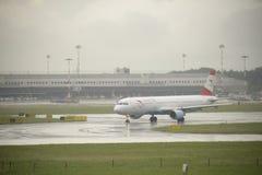 Aéroport international de Malpensa Photographie stock libre de droits