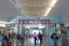 Aéroport international de McCarran à Las Vegas Photo stock