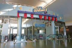 Aéroport international de McCarran à Las Vegas Photo libre de droits