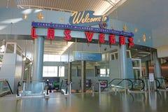 Aéroport international de McCarran à Las Vegas Photographie stock